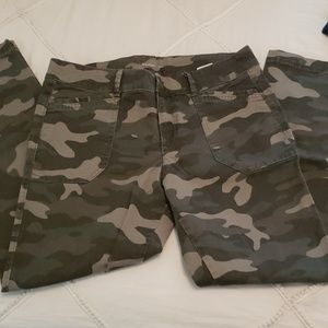 Old navy camouflage pixie pant